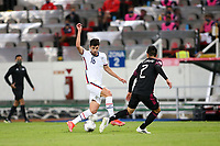GUADALAJARA, MEXICO - MARCH 24: Johnny Cardoso #16 of the United States during a game between Mexico and USMNT U-23 at Estadio Jalisco on March 24, 2021 in Guadalajara, Mexico.