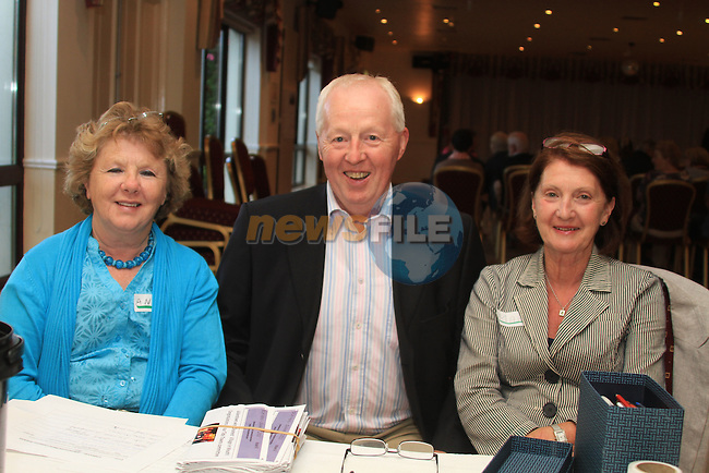 Anne Flynn, Paddy Prendergast and Mary Logue at the Julianstown heritage trail in the Glenside Hotel...Picture Fran Caffrey www.newsfile.ie