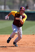 March 7, 2010:  Matt Faiman of the Central Michigan Chippewas during game at Jay Bergman Field in Orlando, FL.  Central Michigan defeated Central Florida by the score of 7-4.  Photo By Mike Janes/Four Seam Images