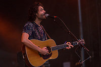 Alexandre Poulin performs at the Festival d'ete de Quebec (Quebec Summer Festival) on July 14, 2018. THE CANADIAN PRESS IMAGES/Francis Vachon