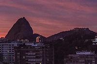 RJ. RIO DE JANEIRO. 19.06.2020 CLIMA TEMPO Amanhecer desta sexta-feira, (19), vista do bairro das Laranjeiras, zona sul.