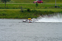 Frame 27 30-H, 44-S spins out in turn 2   (Outboard Hydroplanes)   (Saturday)