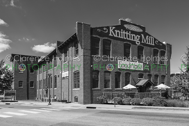 The Knitting Mill, a re-purposed textile mill on the North Shore in Chattanooga, Tennessee.