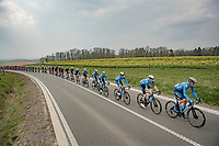 Team Movistar Train<br /> <br /> 85th La Flèche Wallonne 2021 (1.UWT)<br /> 1 day race from Charleroi to the Mur de Huy (BEL): 194km<br /> <br /> ©kramon