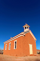 Abandoned church (circ 1886), Grafton (ghost town), Rockville, Washington County, U