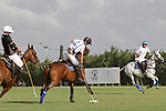 WELLINGTON, FL - APRIL 15:  Valiente's Roberto Zedda hits a backshot in the $100,000 World Cup Final, at the Grand Champions Polo Club, on April 15, 2017 in Wellington, Florida. (Photo by Liz Lamont/Eclipse Sportswire/Getty Images)