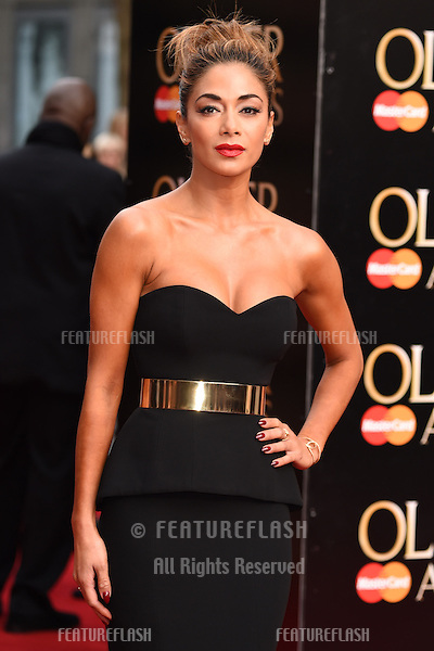 Nicole Scherzinger arrives for the Olivier Awards 2015 at the Royal Opera House Covent Garden, London. 12/04/2015 Picture by: Steve Vas / Featureflash