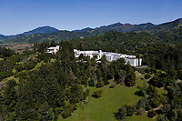 aerial photograph Napa County, California
