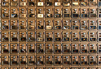 Post office boxes, USA