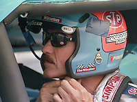 Richard Petty king 43 Pepsi 400 at Daytona International Speedway in Daytona beach, FL on July 1, 1989. (Photo by Brian Cleary/www.bcpix.com)