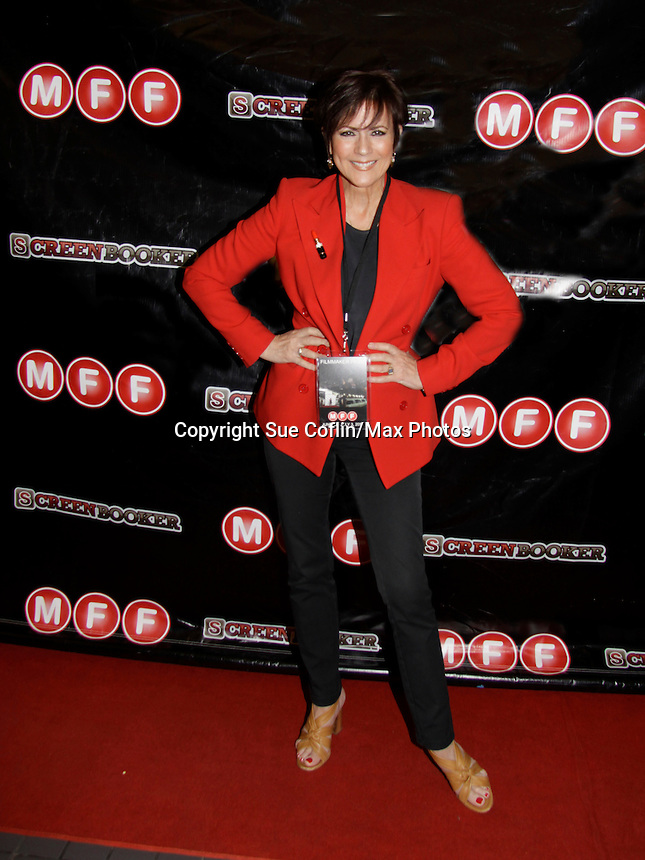 """As The World Turns' Colleen Zenk at the screening of her film """"Libby"""" on June 21, 2014 at the 8h Annual Manhattan Film Festival at the Quad Cinema, New York City, New York.""""Libby (Colleen Zenk) is a wealthy widow of a successful business man. She struggles with her loneliness and with her leg, which is to be operated on, only a few days after our story takes place. Libby has decided to go on a series of dates with men on an online dating."""" """"Libby"""" will again be screened at NewFilmmakers New York on July 23rd where it will be anthologized.  (Photos by Sue Coflin/Max Photos)"""