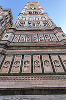 Italy, Florence Santa Maria del Fiore Church, Giotto bell tower