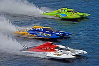 "Ken Brodie II, Pierre Maheu, GP-50 ""Intensity"" , GP-773, Mathew Daoust, GP-9 (Grand Prix Hydroplane(s)"