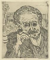 Portrait of Dr Gachet, Vincent van Gogh, 1890