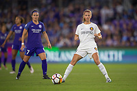 Orlando, FL - Saturday March 24, 2018: Utah Royals defender Katie Bowen (6) during a regular season National Women's Soccer League (NWSL) match between the Orlando Pride and the Utah Royals FC at Orlando City Stadium. The game ended in a 1-1 draw.
