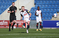 Bolton Wanderers' Ali Crawford with a first half shot<br /> <br /> Photographer Rob Newell/CameraSport<br /> <br /> The EFL Sky Bet League Two - Colchester United v Bolton Wanderers - Saturday 19th September 2020 - Colchester Community Stadium - Colchester<br /> <br /> World Copyright © 2020 CameraSport. All rights reserved. 43 Linden Ave. Countesthorpe. Leicester. England. LE8 5PG - Tel: +44 (0) 116 277 4147 - admin@camerasport.com - www.camerasport.com