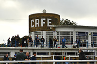 Club Cafe during Enfield Town vs Worthing, Pitching In Isthmian League Premier Division Football at the Queen Elizabeth II Stadium on 16th October 2021