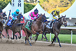 April 10, 2021:#2 Caddo River,#5 Concert Tour,#3 Hozier in the Arkansas Derby at Oaklawn Park in Hot Springs,  Arkansas. Ted McClenning/Eclipse Sportswire/CSM