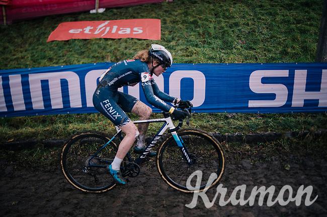 Puck Pieterse (NED/Alpecin-Fenix)<br /> <br /> UCI Cyclocross World Cup Namur 2020 (BEL)<br /> <br /> ©kramon