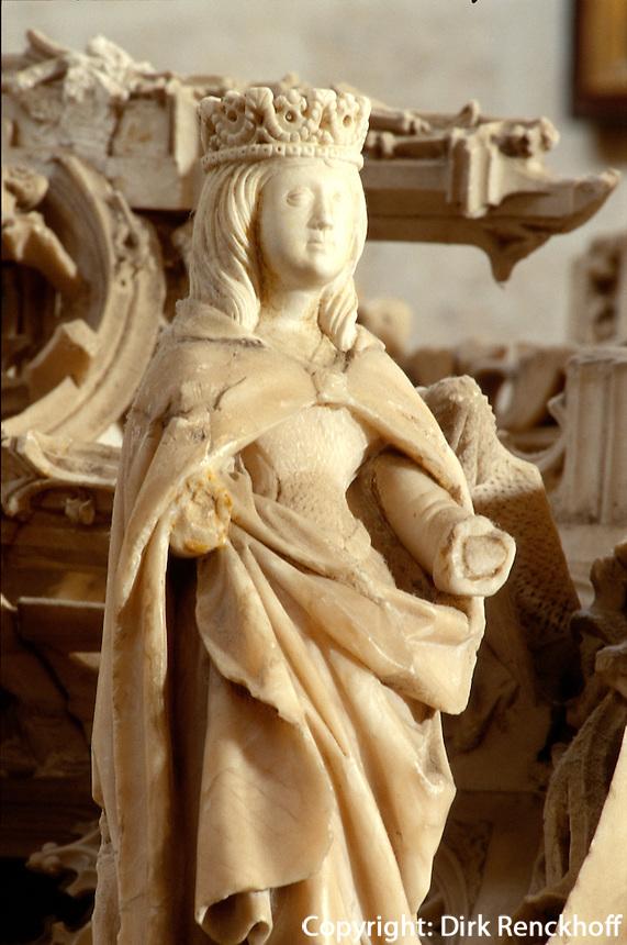 Grab von Juan II und Isabel, Kloster Miraflores, Burgos, Kastilien-León, Spanien..