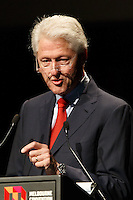 Former United States President Bill Clinton speaks at the 20th International AIDS Conference (AIDS 2014) at the Melbourne Convention and Exhibition Centre on 23 July 2014. This image is not for sale via this web site. Please visit http://demotix.com/ to license.