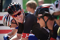 Zak Dempster (AUS/Bora-Argon18) at the start<br /> <br /> 90th Schaal Sels 2015