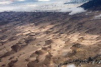 Great Sand Dunes National Park aerial. Jan 2013