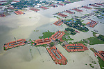 Flood brick factories flooded out by Azim Khan Ronnie