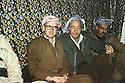Iran 1980.Aziz Akrawi in Rajan  with Dr.Mohammed Goma, left.Iran 1980.Aziz Akrawi, 2eme a droite, avec Dr. Mohammed Saleh Goma, a gauche, a Rajan