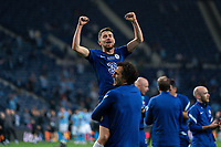 The Chelsea team celebrate after winning the UEFA Champions League Final match between Manchester City and Chelsea at The Estdio do Drago, Porto, Portugal on 29 May 2021. PUBLICATIONxNOTxINxUK Copyright: xAndyxRowlandx PMI-4238-0238 <br /> Oporto 29/05/2021 <br /> Champions League Final <br /> Manchester City Vs Chelsea <br /> Photo Imago/Insidefoto <br /> ITALY ONLY