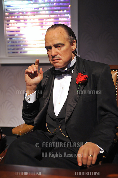 Marlon Brando waxwork figure - grand opening of Madame Tussauds Hollywood. The new $55 million attraction is the first ever Madame Tussauds in the world to be built from the ground up. It is located on Hollywood Boulevard immediately next to the world-famous Grauman's Chinese Theatre..July 21, 2009  Los Angeles, CA.Picture: Paul Smith / Featureflash