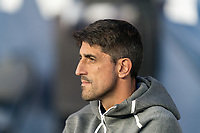 FOXBOROUGH, MA - AUGUST 24: Veljko Paunovic of Chicago Fire during a game between Chicago Fire and New England Revolution at Gillette Stadium on August 24, 2019 in Foxborough, Massachusetts.