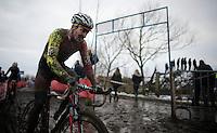 Julien Taramarcaz (SUI/Corendon-Stannah)<br /> <br /> Azencross Loenhout 2014