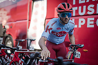 Nathan Haas (AUS/Katusha Alpecin) checking his bike pre-race<br /> <br /> 54th Amstel Gold Race 2019 (1.UWT)<br /> One day race from Maastricht to Berg en Terblijt (NED/266km)<br /> <br /> ©kramon