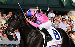 April 12, 2014: Dance With Fate and Corey Nakatani win the Toyota Blue Grass Grade 1 $750,000 at Keeneland racecourse for owner Sharon Alesia, Bran Jam Stable, Ciaglia Racing and trainer Peter Eurton .  Candice Chavez/ESW/CSM