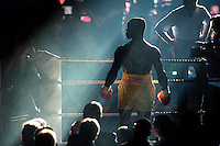 Pix:Michael Steele/SWpix...Boxing. Chris Eubank, Manchester GMEX...COPYRIGHT PICTURE>>SIMON WILKINSON..Chris Eubank.