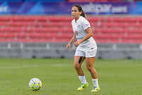 Chicago, IL - Saturday July 30, 2016: Lo'eau LaBonta during a regular season National Women's Soccer League (NWSL) match between the Chicago Red Stars and FC Kansas City at Toyota Park.