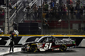 NASCAR Camping World Truck Series<br /> North Carolina Education Lottery 200<br /> Charlotte Motor Speedway, Concord, NC USA<br /> Friday 19 May 2017<br /> Kyle Busch, Cessna Toyota Tundra<br /> World Copyright: Rusty Jarrett<br /> LAT Images<br /> ref: Digital Image 17CLT1rj_4211