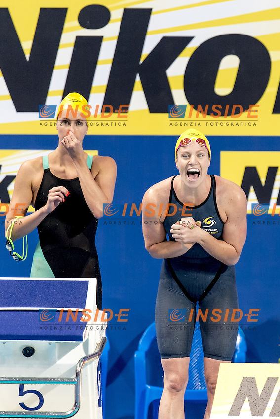 4x100 freestyle women Australia <br /> Swimming Nuoto Kazan Arena<br /> Day10 02/08/2015 Evening Finals<br /> XVI FINA World Championships Aquatics Swimming<br /> Kazan Tatarstan RUS July 24 - Aug. 9 2015 <br /> Photo G.Scala/Deepbluemedia/Insidefoto