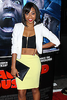 """LOS ANGELES, CA, USA - APRIL 16: Bresha Webb at the Los Angeles Premiere Of Open Road Films' """"A Haunted House 2"""" held at Regal Cinemas L.A. Live on April 16, 2014 in Los Angeles, California, United States. (Photo by Xavier Collin/Celebrity Monitor)"""