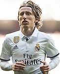 Luka Modric of Real Madrid in action during their La Liga match between Real Madrid and Granada CF at the Santiago Bernabeu Stadium on 07 January 2017 in Madrid, Spain. Photo by Diego Gonzalez Souto / Power Sport Images