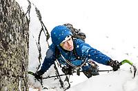 Raphael Slawinski climbing in the Polish Tatras