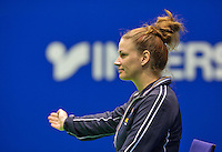 Rotterdam, Netherlands, December 17, 2015,  Topsport Centrum, Lotto NK Tennis, Lines woman Manja Bakker  (NED)<br /> Photo: Tennisimages/Henk Koster