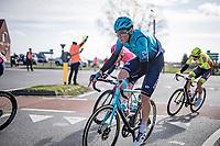 Yevgeniy Fedorov (KAZ/Astana - Premier Tech) in the early breakaway group<br /> <br /> 83rd Gent-Wevelgem - in Flanders Fields (ME - 1.UWT)<br /> 1 day race from Ieper to Wevelgem (BEL): 254km<br /> <br /> ©kramon