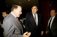 FILE - Bernard Landry et Lucien Bouchard, Mai 1996