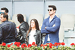 AItor Ocio and his girlfriend during Mutua Madrid Open Tennis 2016 in Madrid, May 07, 2016. (ALTERPHOTOS/BorjaB.Hojas)