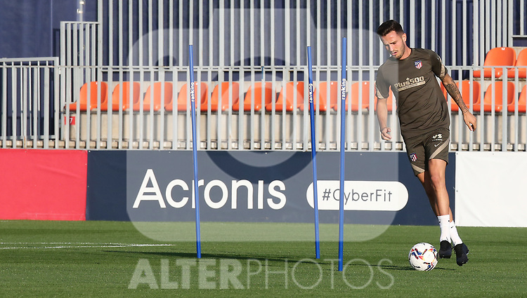 Atletico de Madrid's Saul Niguez during training session. September 21,2020.(ALTERPHOTOS/Atletico de Madrid/Pool)