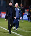 08.11.2019 Dundee v Dundee Utd: James McPake troops off