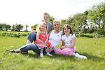 Lorraine Balfe with her Children