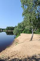 Gauja bei Cesis, Lettland, Europa